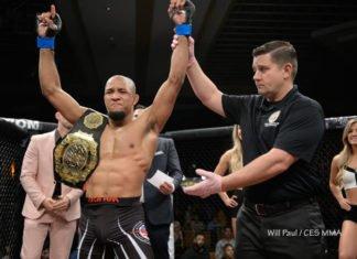 CES MMA Tony Gravely UFC prospect