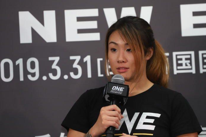 Angela Lee ONE Championship