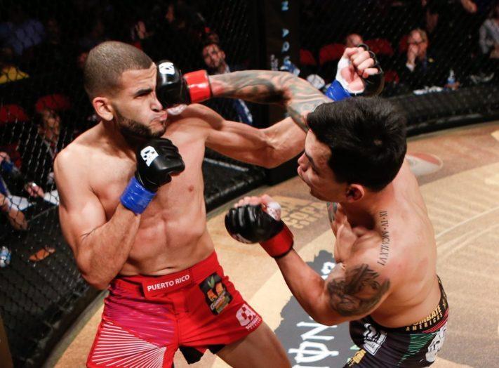 Combate Americas Pablo Sabori Anthony Avila