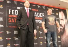Jake Hager (Jack Swagger) and J.W. Kiser ahead of Bellator 214