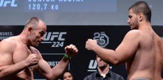 Junior Albini returns at UFC Fortaleza