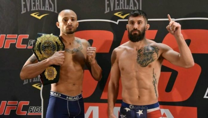 CES MMA Nate Andrews and Bryce Logan