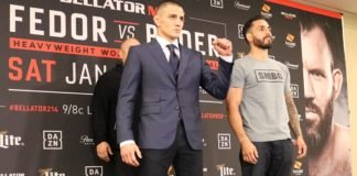 Aaron Pico and Henry Corrales ahead of Bellator 214