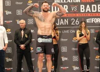 Ryan Bader, Bellator 214 weigh-in