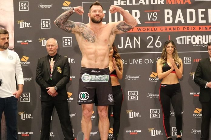 Ryan Bader, Bellator 214 weigh-in