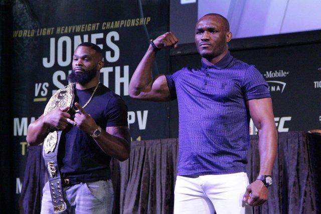 UFC 235 Kamaru Usman Tyron Woodley