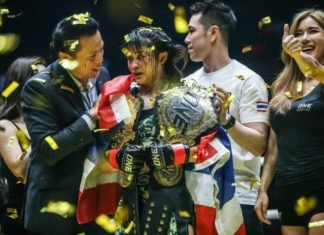 Stamp Fairtex ONE Championship