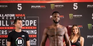 Bellator Newcastle Fabian Edwards