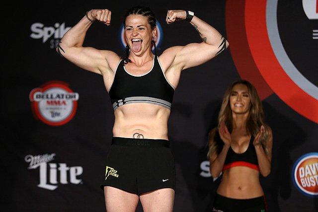 Amanda Bell Bellator MMA