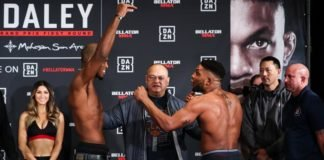 Michael Page and Paul Daley ahead of Bellator 216