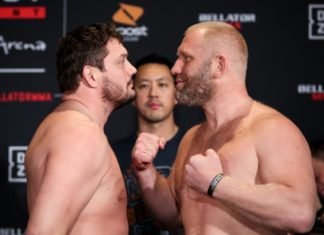 Matt Mitrione and Sergei Kharitonov