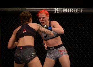Gillian Robertson, UFC Sao Paulo UFC Prague