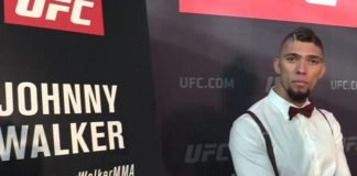 Johnny Walker UFC 235 media day
