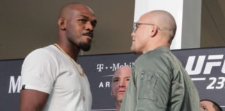 Jon Jones and Anthony Smith UFC