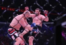 Matt Mitrione lands low on Sergei Kharitonov