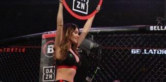 Bellator ring girl