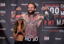 Bellator Newcastle MMA Aaron Chalmers