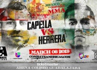 Combate Americas Mexico vs. Spain