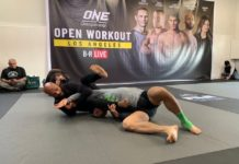 Demetrious Johnson (Mighty Mouse), ONE Championship Open Workout in L.A.