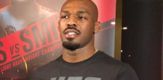 Jon Jones, UFC 235 open workout day