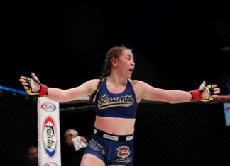 UFC London Molly McCann
