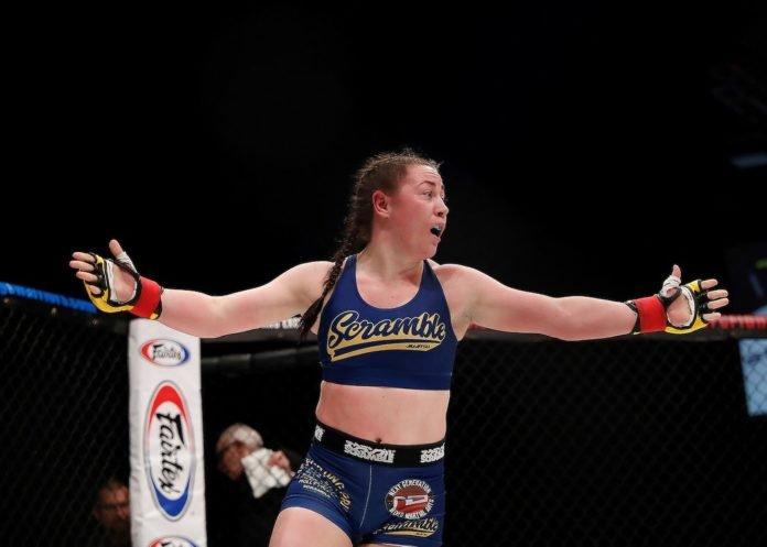 UFC London Molly McCann
