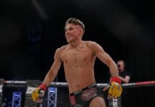 UFC London Nathaniel Wood