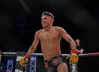 UFC London Nathaniel Wood