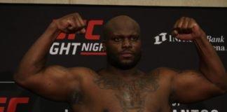 Derrick Lewis, UFC Wichita weigh-in
