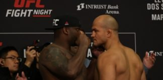 Derrick Lewis vs. Junior Dos Santos ahead of UFC Wichita