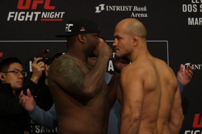 Derrick Lewis vs. Junior Dos Santos ahead of UFC Wichita