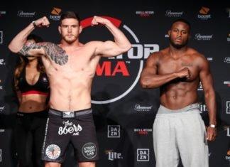 Johnny Eblen Bellator MMA