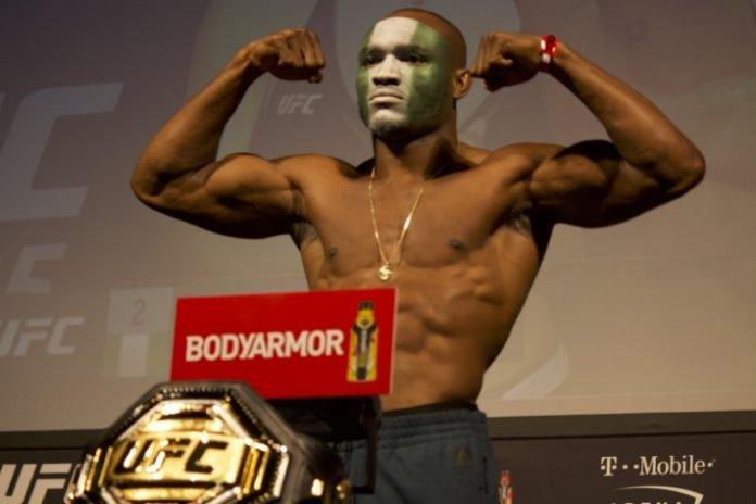 Kamaru Usman, UFC 235 weigh-in UFC 240