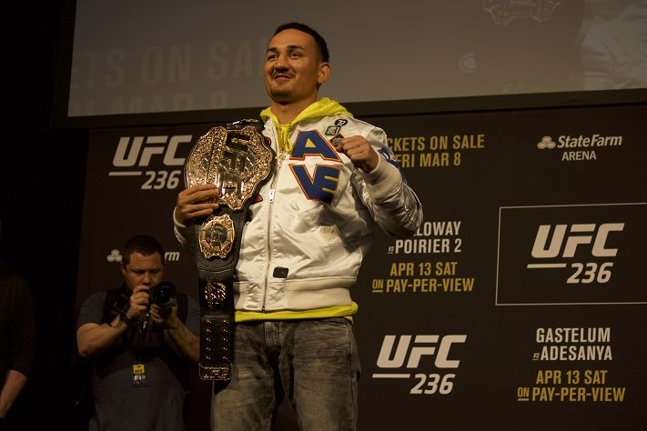 Max Holloway, UFC 236 press conference