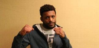 Michael Johnson, UFC Philadelphia media day