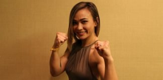 Michelle Waterson, UFC Philadelphia media day