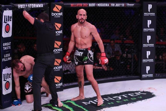 Bellator's Saad Awad