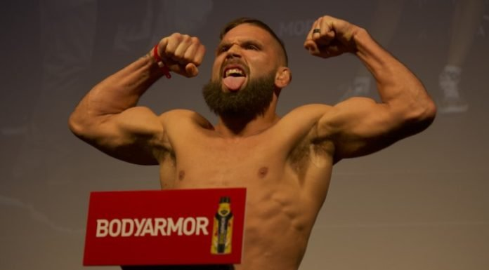 UFC Mexico City Jeremy Stephens
