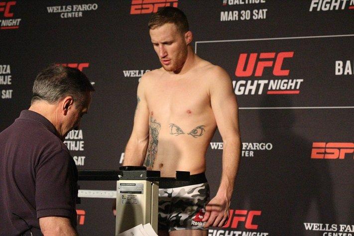 Justin Gaethje UFC Vancouver