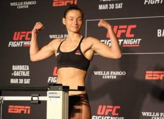 Maryna Moroz UFC