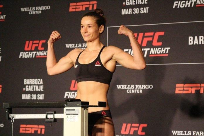 UFC Philadelphia Maryna Moroz