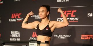UFC Philadelphia Michelle Waterson