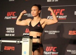 UFC Philadelphia Michelle Waterson