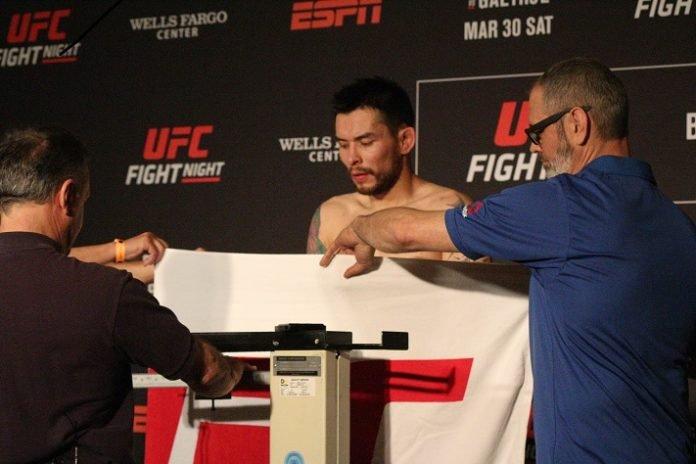Ray Borg UFC