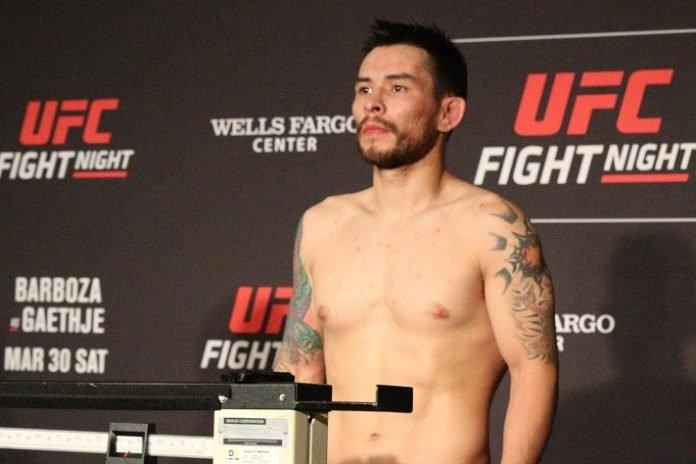 UFC Philadelphia Ray Borg
