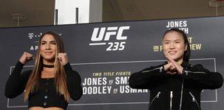 Weili Zhang and Tecia Torres UFC 235