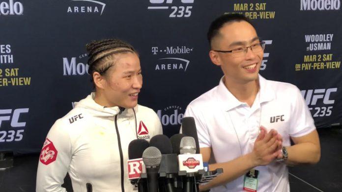 Weili Zhang UFC 235
