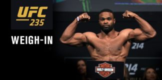 Tyron Woodley UFC 235 weigh-in