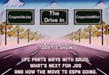Drive In Episode 7 - UFC, Saudi Deal, ESPN and JDS