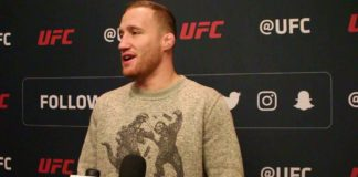 Justin Gaethje, UFC Philadelphia media day